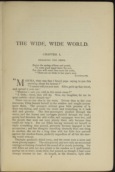 First Page of Text of the [1907] Collins' Clear-Type Press Reprint