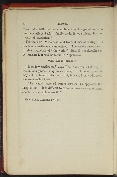 Second Page of the Preface to [1891] James Nisbet & Co. Reprint