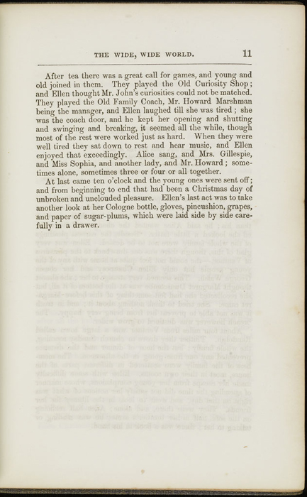 Eleventh Page of Text in Volume 2 of the 1851 George P. Putnam First Edition<br /><br />