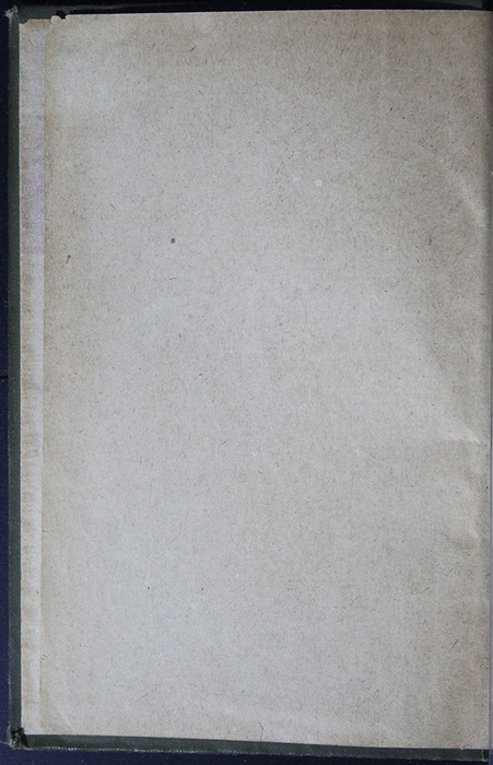Verso of Front Flyleaf of the [1883] John F Shaw & Co. Reprint