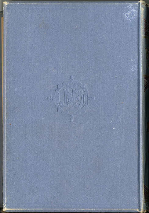 "Back Cover of 1887 James Nisbet & Co. ""New ed. Golden Ladder Series"" Reprint"