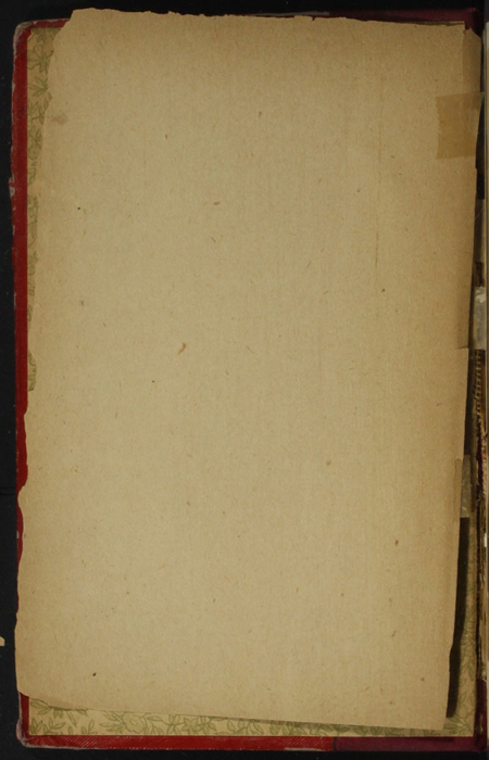 Front Pastedown of Volume 1 of the [1902] Home Book Co. Reprint, Version 1
