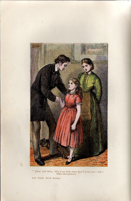 Illustration on Page 272b of the [1899] George Routledge & Sons, Ltd. Reprint Depicting Ellen Meeting John