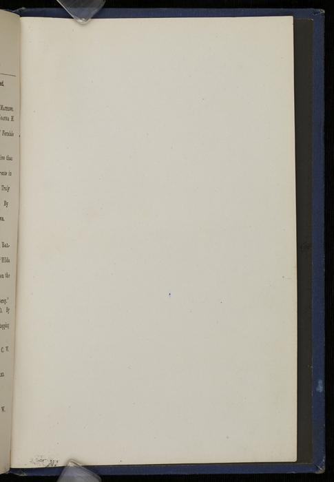 "Recto of Back Flyleaf of  1886 James Nisbet & Co. ""New ed. Golden Ladder Series"" Reprint"