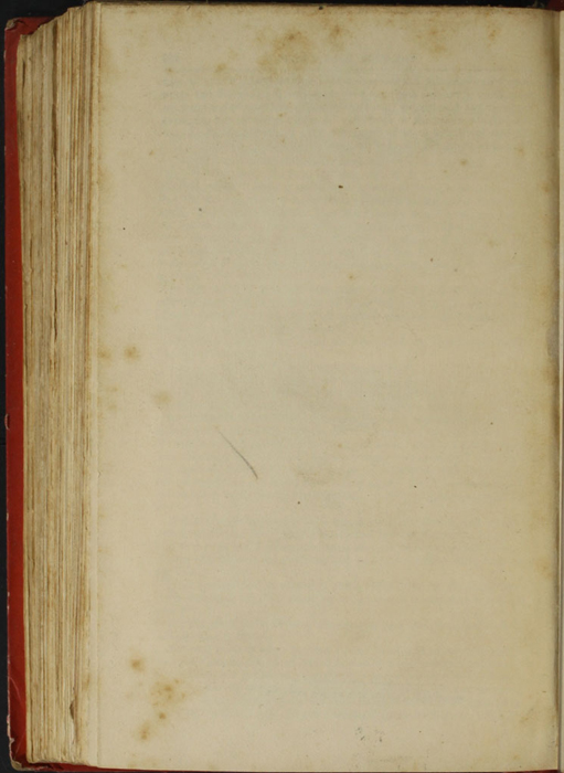 """Verso of Back Flyleaf of the 1853 T. Nelson & Sons """"Nelson's Library for Travellers and the Fireside"""" Reprint"""