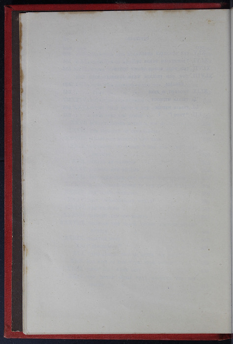 """Verso of the Last Page of Table of Contents of the 1879 James Nisbet & Co. """"Golden Ladder Series"""" Reprint"""
