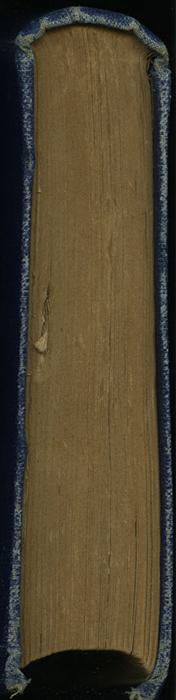 Tail of the [1887] W. Nicholson & Sons, Ltd. Reprint