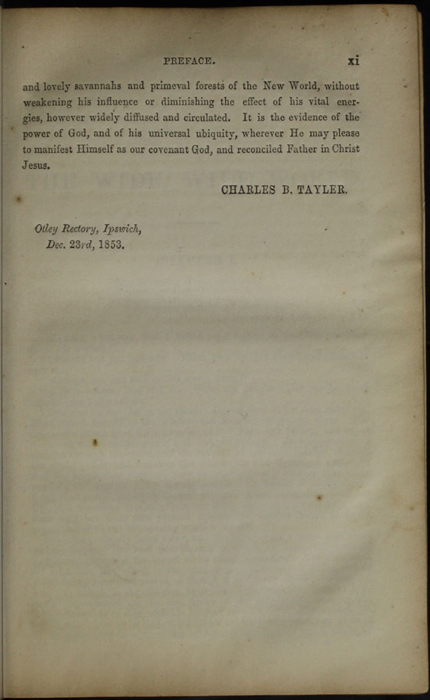 Page xi of the Preface to the [1853] Clarke, Beeton, & Co. Reprint, Version 1