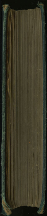 Fore Edge of the [1879] Milner & Sowerby Reprint