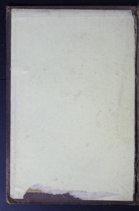 Front Pastedown of the 1879 Li-Quor Tea Co. Reprint
