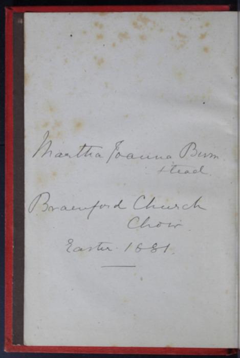 "Verso of Front Flyleaf of the 1879 James Nisbet & Co. ""Golden Ladder Series"" Reprint"
