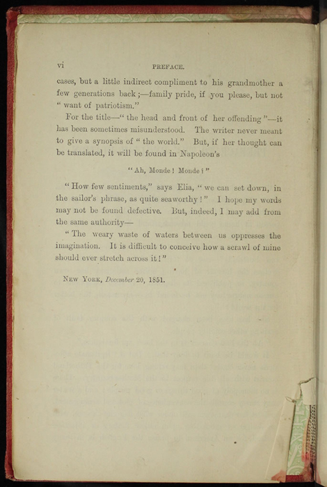 "Second Page of the Preface to [1890] Frederick Warne & Co. ""Star Series"" Reprint, Version 2"