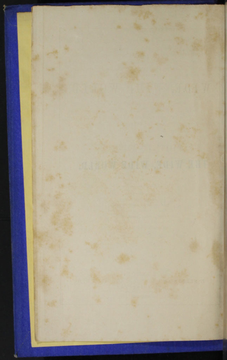 Verso of First Front Flyleaf of the 1852 T. Nelson & Sons Reprint, Version 2