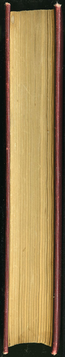 """Fore Edge of the 1903 J. B. Lippincott Co. """"New Edition"""" Reprint"""