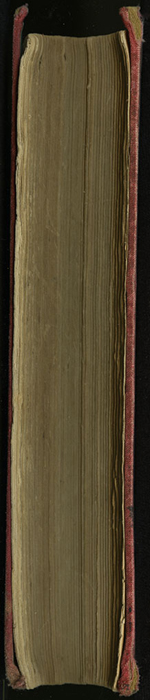 "Fore Edge of [1890] Frederick Warne & Co. ""Star Series"" Reprint, Version 2"