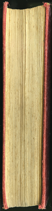 Fore Edge of the [1906] Charles H. Kelly Reprint, Version 2