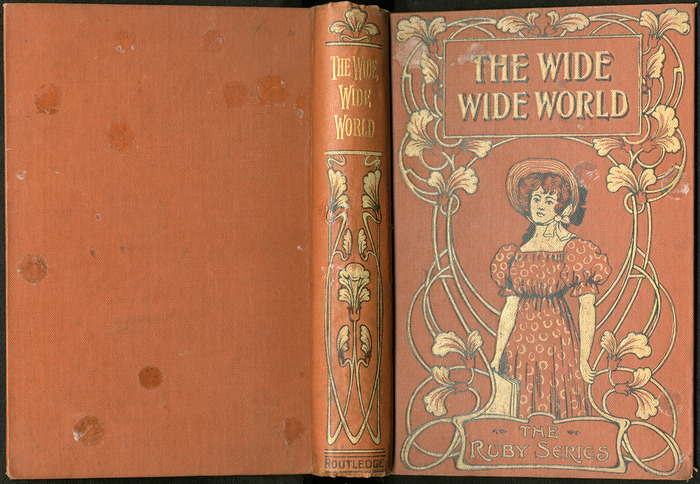 """Full Cover of the [1899] George Routledge & Sons Ltd. """"Ruby Series"""" Reprint, Version 2"""