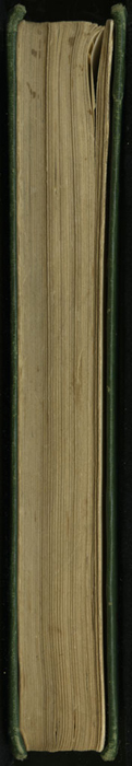 "Fore Edge of the [1903] Ward, Lock, & Co., Ltd. ""Complete Edition"" Reprint"