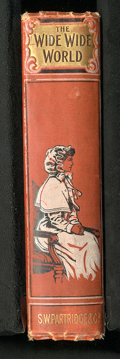 "Spine of the [1896] S. W. Partridge & Co. ""Marigold Series"" Reprint"