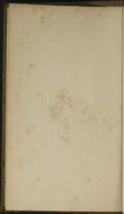 Verso of Front Flyleaf of the 1853 G. Routledge and Co. Reprint