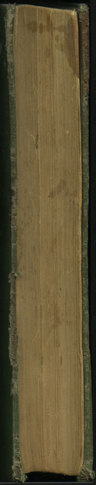 Fore Edge of the [1906] Thomas Y. Crowell & Co. Reprint