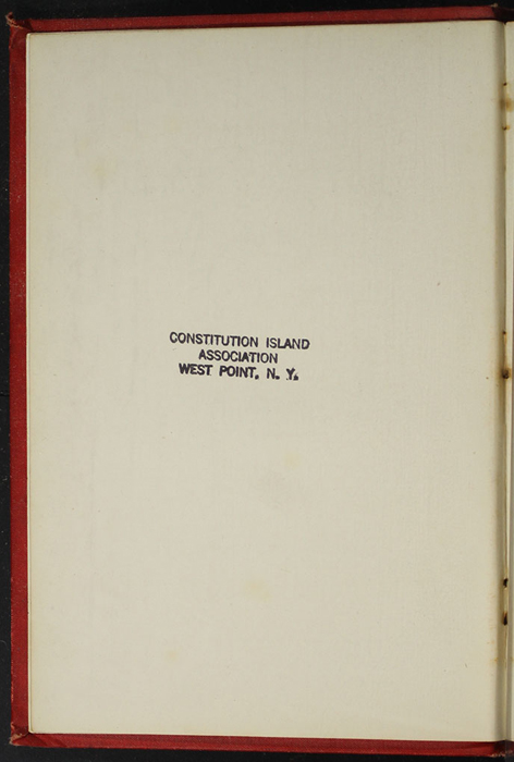 Verso of Title Page of the [1896] Walter Scott, Ltd. Reprint