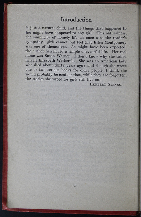 "Second Page of the Introduction to the [1918] Humphrey Milford/Oxford University Press ""Herbert Strang's Library"" Reprint"