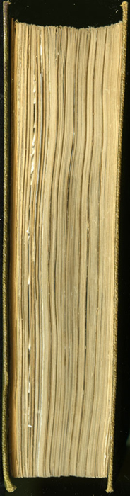 Fore Edge of the 1853 G. Routledge and Co. Reprint