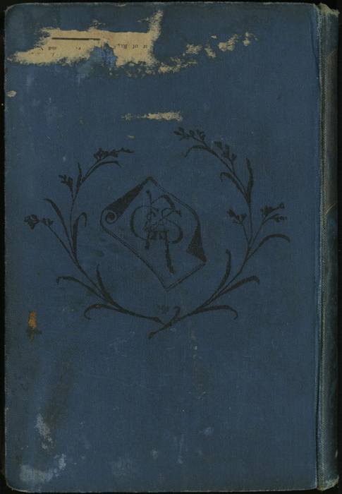 Back Cover of the [1899] George Routledge & Sons, Ltd. Reprint, Version 1