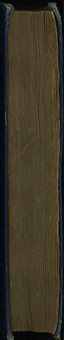 Fore Edge of the [1887] W. Nicholson & Sons, Ltd. Reprint