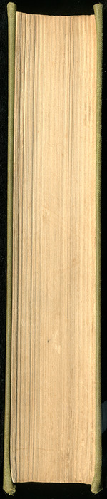 Fore Edge of the [1907] Grosset & Dunlap Reprint, Version 4