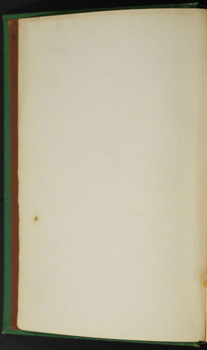 """Verso of First Front Flyleaf of the 1880 J. B. Lippincott & Co. """"New Edition"""" Reprint"""