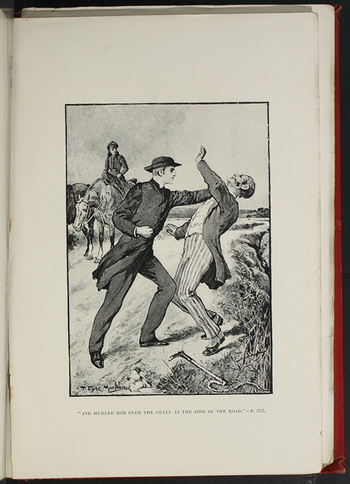 Illustration on Page 328a of the [1896] Walter Scott, Ltd. Reprint Depicting the Horse Whipping Scene