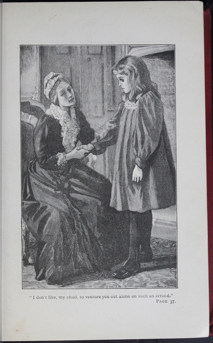 Illustration on Page 35a of the [1904] Hutchinson & Co. Reprint Depicting Ellen and Mamma in the Parlour
