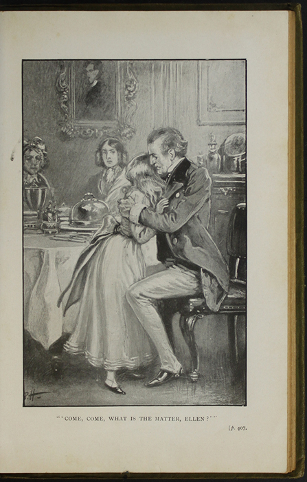 Illustration on Page 406a of the [1910] S.W. Partridge & Co., Ltd. Reprint Depicting Ellen Comforted by Uncle Lindsay