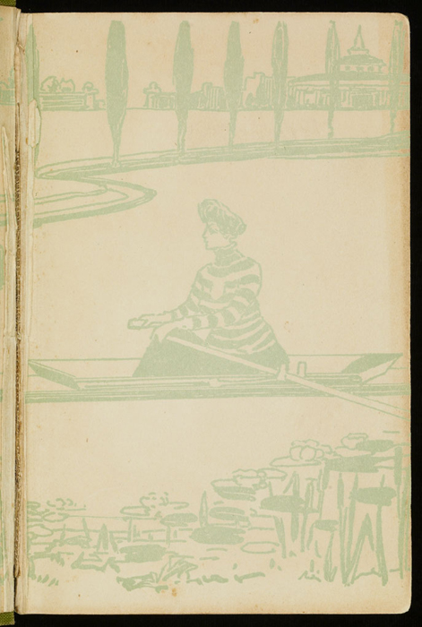 Recto of Front Flyleaf of the [1915] M. A. Donohue & Co. Reprint