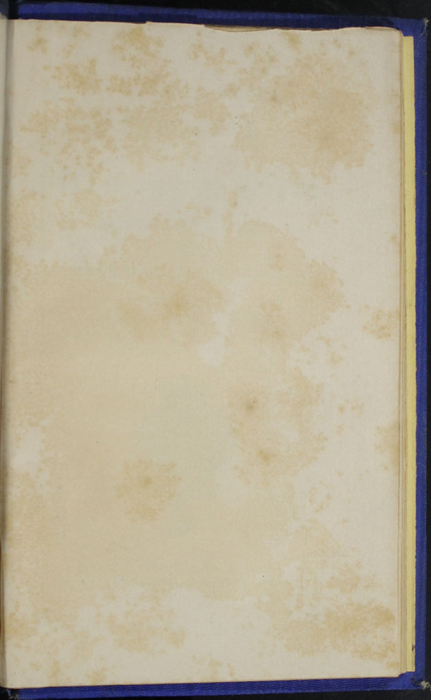 Recto of First Back Flyleaf of the 1852 T. Nelson & Sons Reprint, Version 2