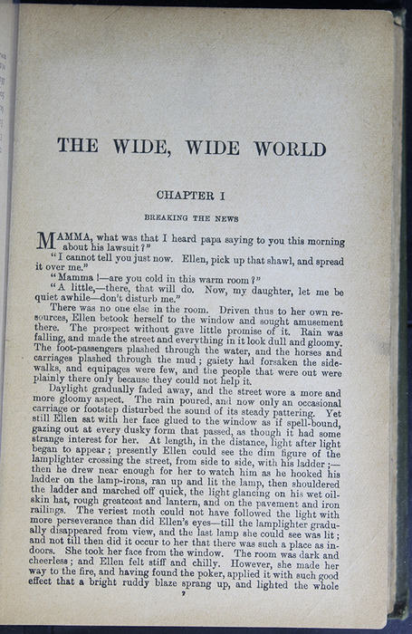 First Page of Text in the [1883] John F Shaw & Co. Reprint