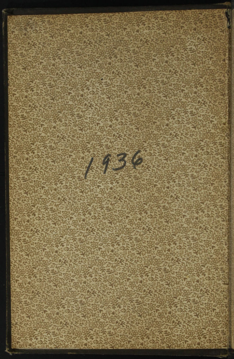 """Front Pastedown of the [1895] William L. Allison Co. """"Allison's New Standard Library"""" Reprint"""