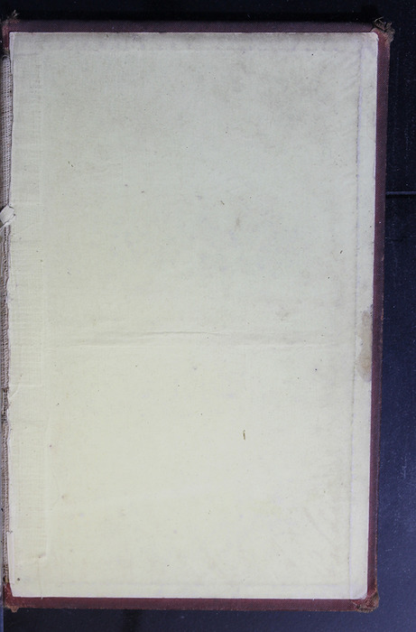 """Back Pastedown of the 1886 James Nisbet & Co. """"New Edition"""" Reprint"""