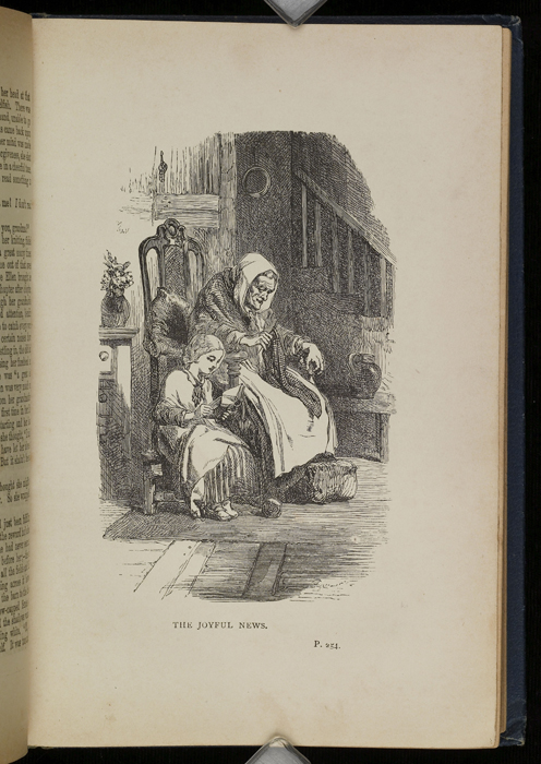 Illustration on Page 254a of the [1896] James Nisbet & Co. Reprint Depicting Ellen Reading to Grandma