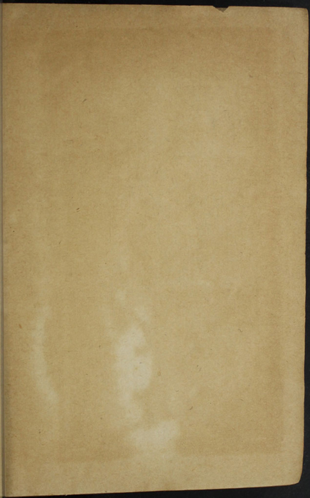 Recto of Front Flyleaf of the [1887] W. Nicholson & Sons, Ltd. Reprint