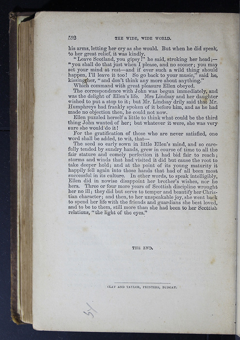 Last Page of Text in the 1879 Li-Quor Tea Co. Reprint