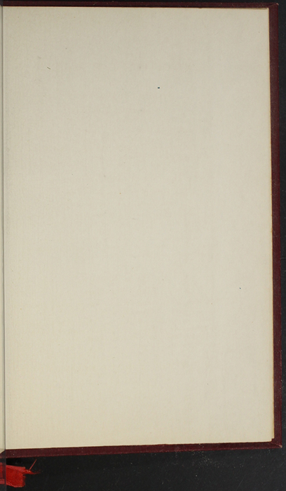 """Recto of Back Flyleaf of the 1903 J. B. Lippincott Co. """"New Edition"""" Reprint"""