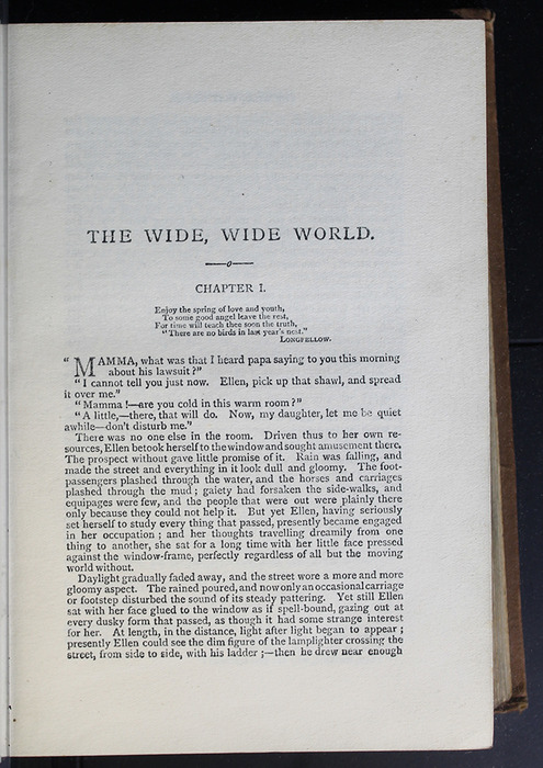 First Page of Text of the [1896] The Walter Scott Publishing Co. Ltd. Reprint