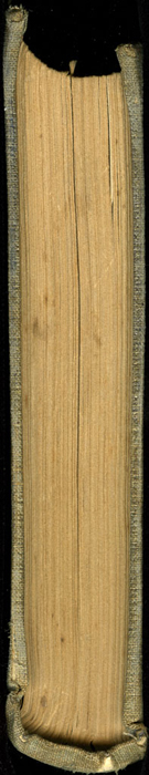 Tail of Volume 2 of the 1851 George P. Putnam First Edition