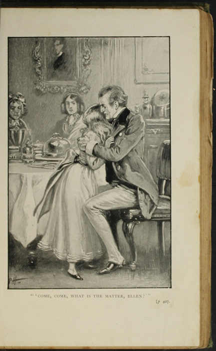 Illustration on Page 406a of the [1896] S.W. Partridge & Co. Reprint Depicting Mr. Lindsay Comforting Ellen