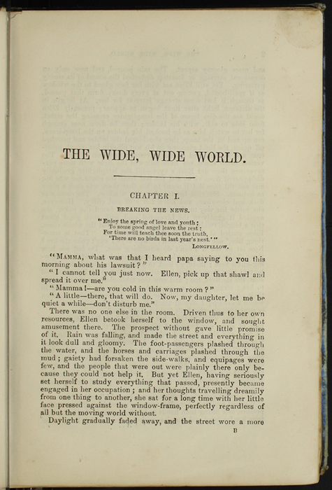 First Page of Text in [1890] Frederick Warne & Co. Reprint