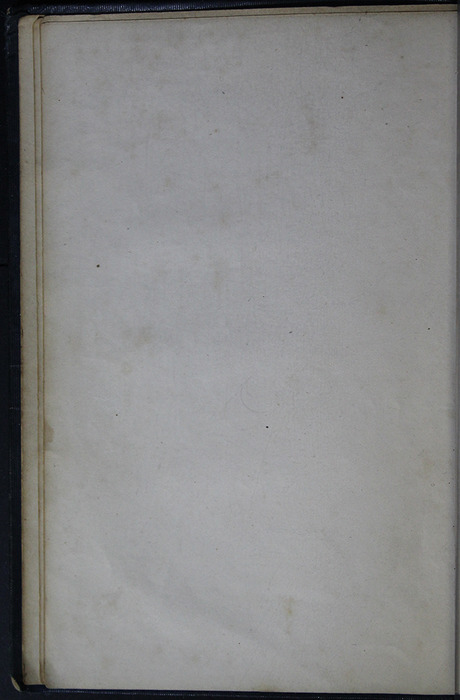 Verso of Second Front Flyleaf of Volume 1 of the 1852 George P. Putnam 16th Edition, Version 2