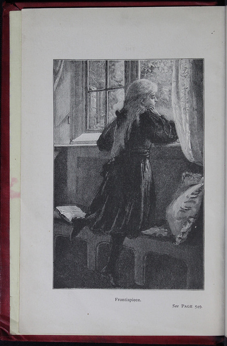 Frontispiece to the [1904] Hutchinson & Co. Reprint Depicting Ellen at the Window